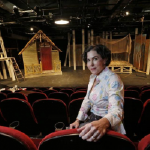 Emily Scott Banks has transitioned from actress to director, currently directing Stage West's upcoming show, 'Stupid F*cking Bird.'